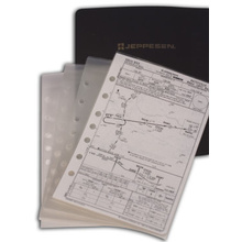 Jeppesen Chart Pocket Enroute (JA-1) Set of 5