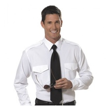 VAN HEUSEN MENS AVIATOR SHIRT LONG