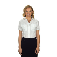 VAN HEUSEN LADIES AVIATOR SHIRT SHORT