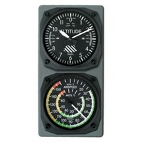 Altimeter Clock/Airspeed Indicator Thermometer Wall Console