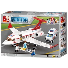 Medical Air Ambulance 335 pcs Building Blocks