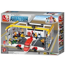 Aircraft Hangar 599 pcs Building Blocks