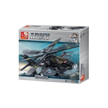 Apache Helicopter 293 pcs Building Blocks