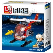FIRE HELICOPTER 80 PCS