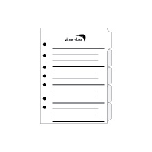 Blank Divider Tabs - Write Your Own