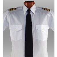 Epaulette Short Sleeve Shirt