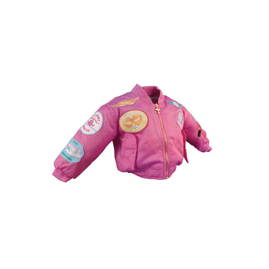 247067f7a MA1 JACKET/PINK/PATCHES /KIDS 10/12